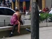 Casal Fazendo Sexo na Praça no Rio de Janeiro
