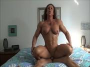 Metendo com Mulher Musculosa