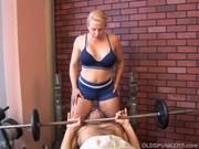 Personal Trainer Safada Metendo com Aluno