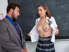Novinha Deliciosa Metendo com Professor HD